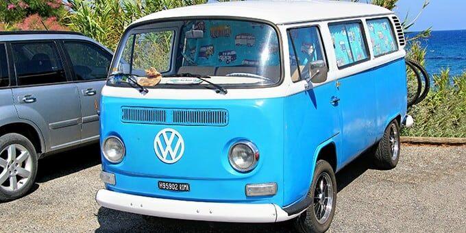 volkswagen bus vakantie autokosten delen reizen